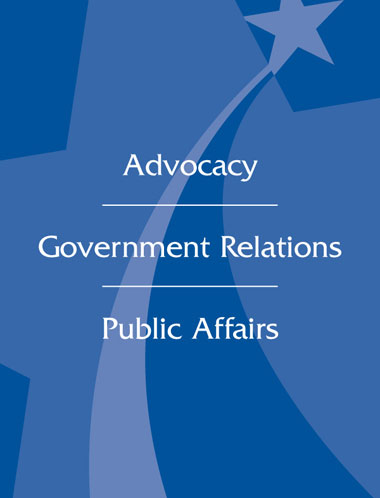 Advocacy | Government Relations | Public Affairs